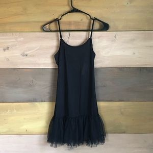 Tutu bottom slip dress